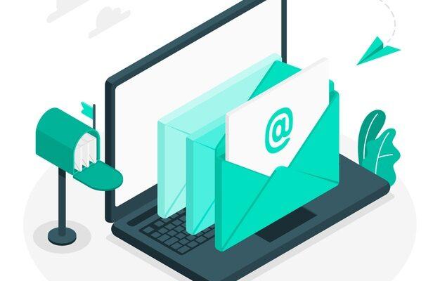 جاوید ایرانیان emails concept illustration 114360 1355 626x400 آغاز یک تجارت مجازی    Image of emails concept illustration 114360 1355 626x400