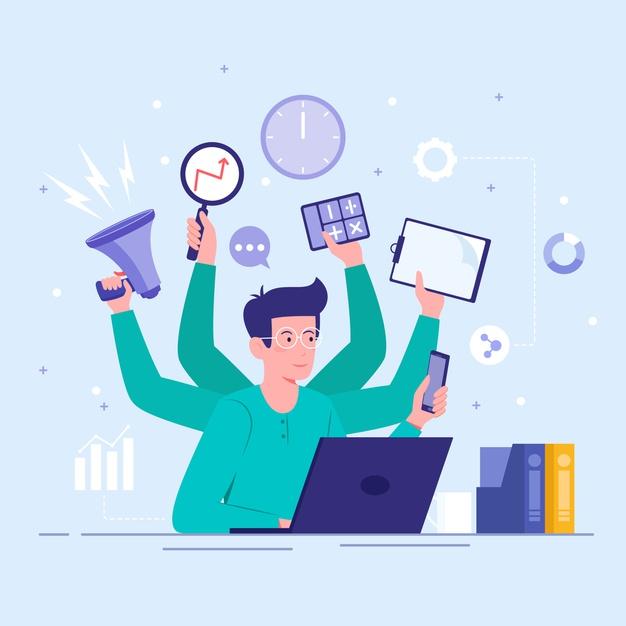 جاوید ایرانیان multitasking concept 23 2148393363 دو نوع بیزینس پلن محبوب برای شرکت ها در سال 2020    Image of multitasking concept 23 2148393363