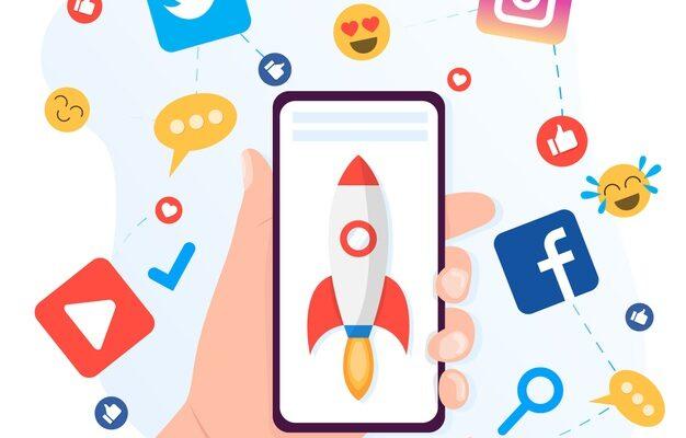 جاوید ایرانیان social media marketing mobile phone concept 23 2148424881 626x400 آغاز یک تجارت مجازی    Image of social media marketing mobile phone concept 23 2148424881 626x400